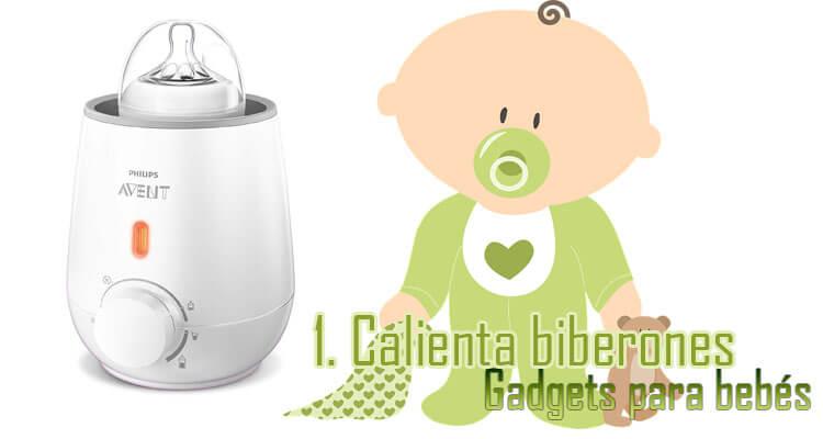 Gadgets Imprescindibles para bebés - Calienta biberones