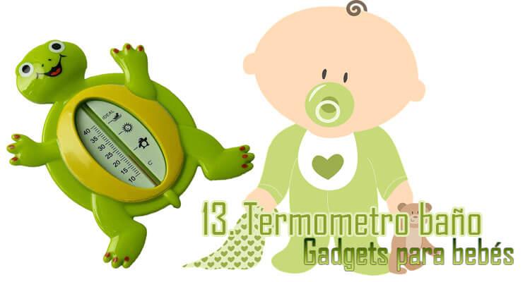 Gadgets Imprescindibles para bebés - Termómetro bañera