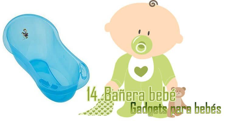 Gadgets Imprescindibles para bebés - Bañera bebé