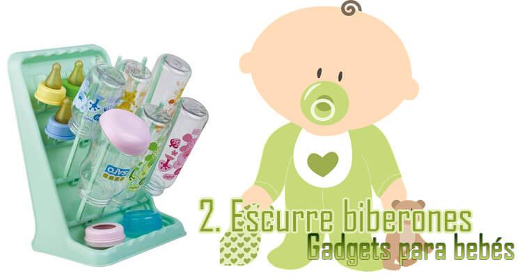 Gadgets Imprescindibles para bebés - Escurre biberones