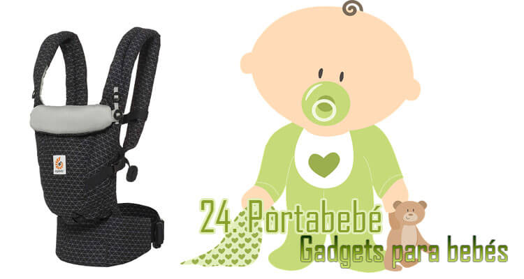 Gadgets Imprescindibles para bebés - portabebé