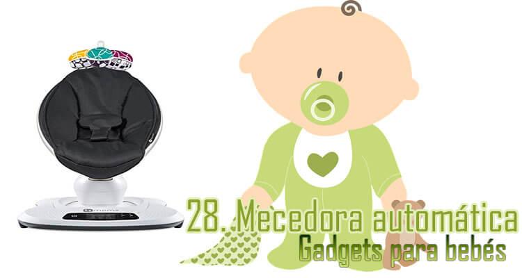 Gadgets Imprescindibles para bebés - mecedora automática