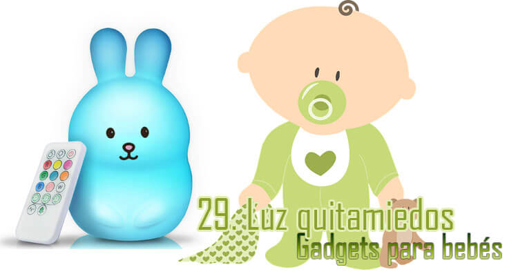 Gadgets Imprescindibles para bebés - Lámpara quitamiedos