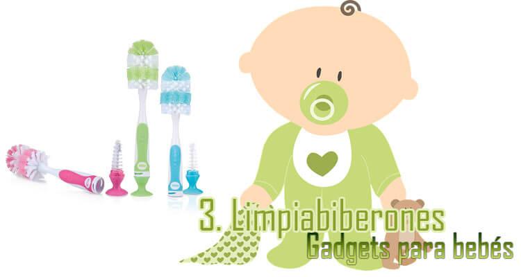 Gadgets Imprescindibles para bebés - Limpiabiberones
