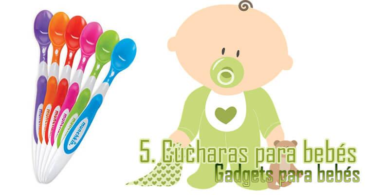 Gadgets Imprescindibles para bebés - Cucharas biberones