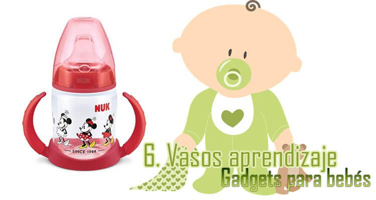 Gadgets Imprescindibles para bebés - Vasos Aprendizaje bebés