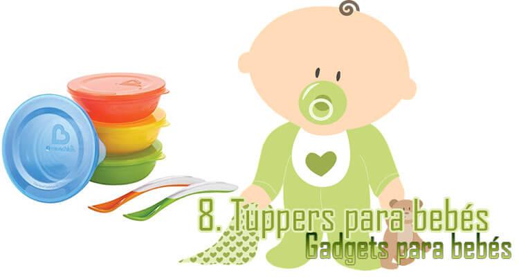 Gadgets Imprescindibles para bebés -tuppers bebés