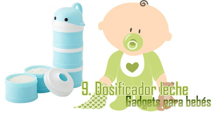 Gadgets Imprescindibles para bebés - Dosificador leche bebés