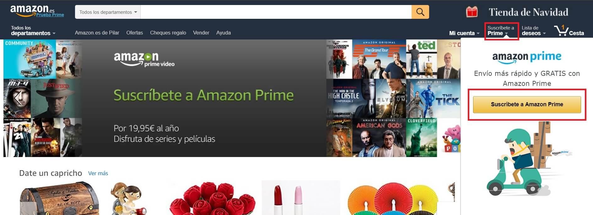Amazon Prime Cómo Funciona