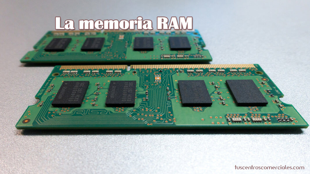 Consejos para elegir portátil - La Memoria RAM