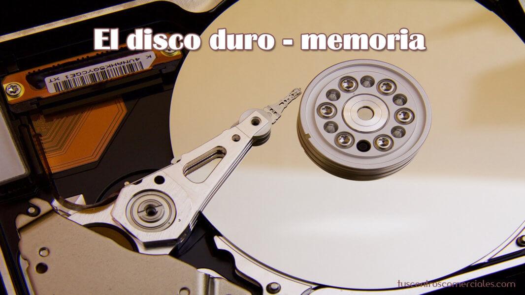 Consejos para elegir portátil - El Disco Duro (memoria almacenamiento)