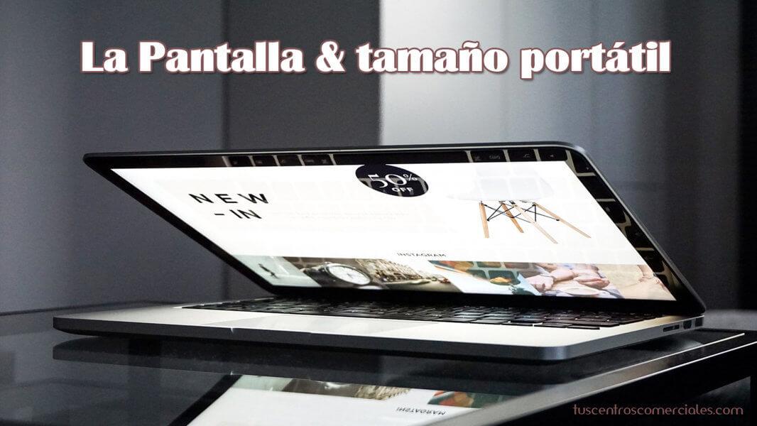 Consejos para elegir portátil - La Pantalla
