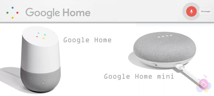 Dispositivos Google Home