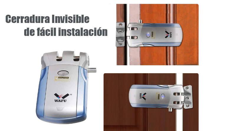 Cerradura invisible Wafu