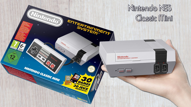 Consolas retro - Nintendo NES Mini