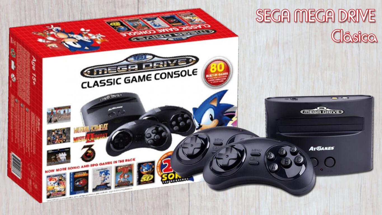 Consolas retro - Mega Drive Mini