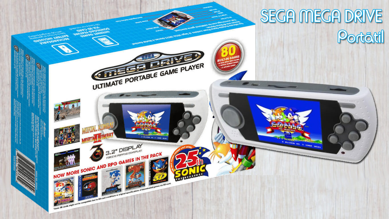 Consolas retro - Sega Mega Drive Portable
