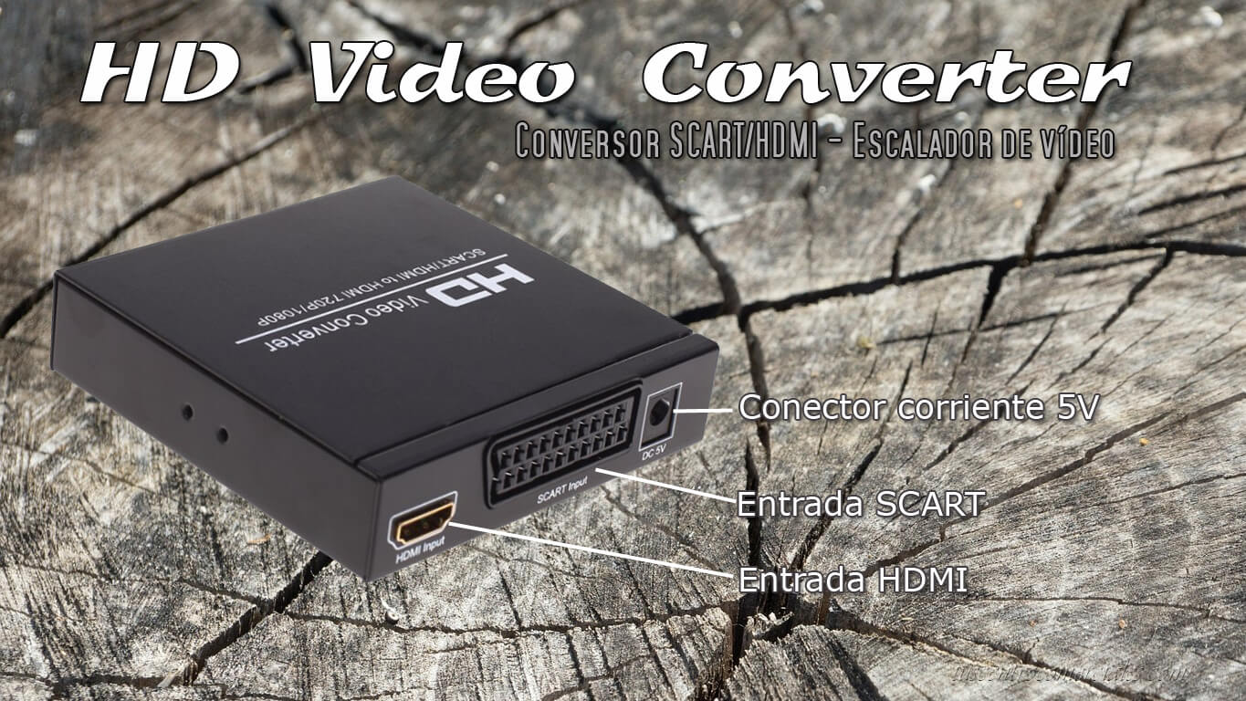Conversor Video consolas retro
