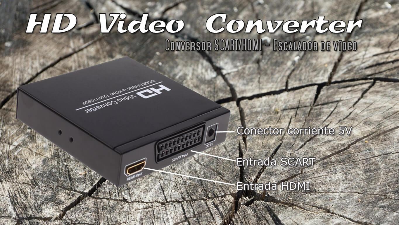 Conversor Video consolas retro