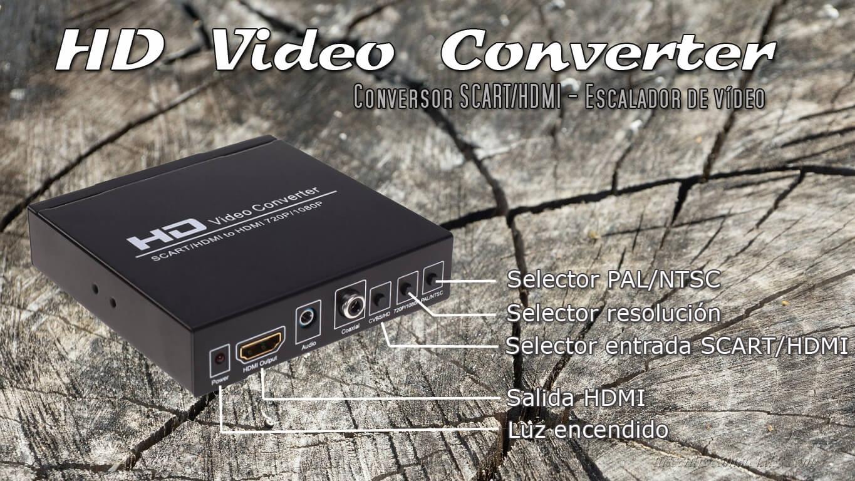 Escalador Video consolas retro