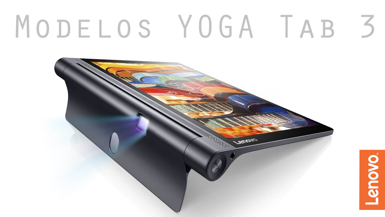 Review en español Yoga TAB 3 Modelos