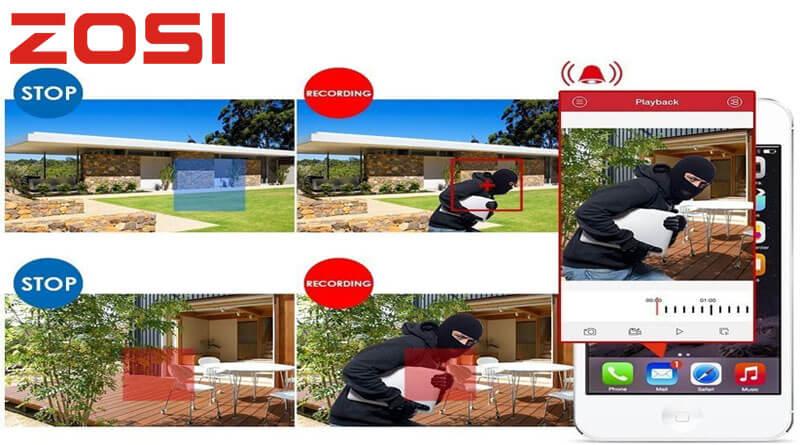 Sistema de videovigilancia hogar o negocio