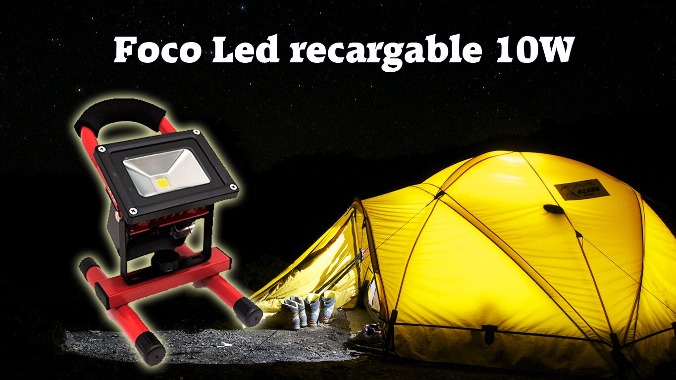Foco Led Portátil, Recargable