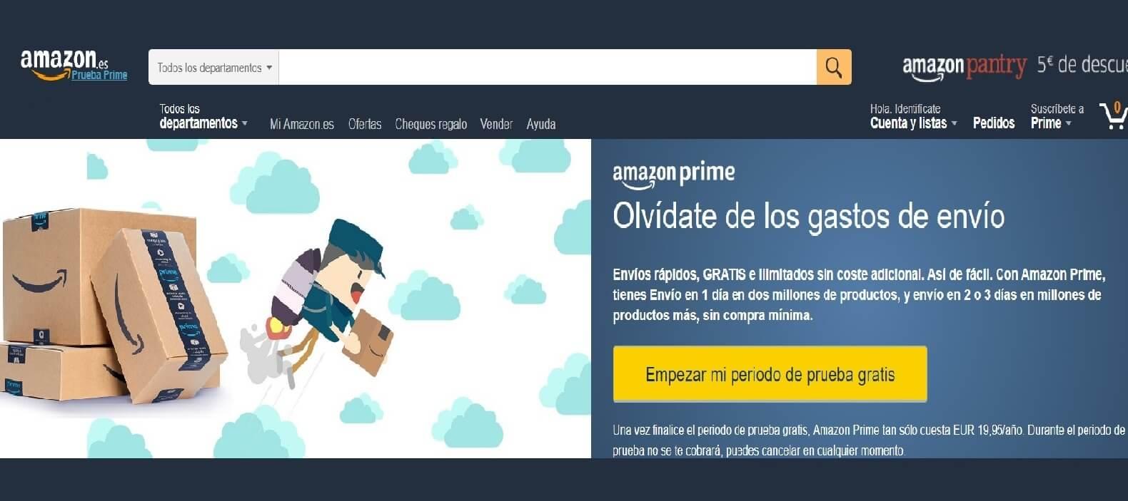 Amazon Prime ¿Cómo funciona? Ventajas