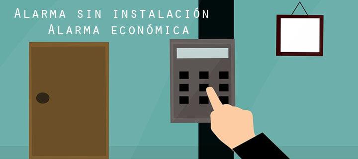 Alarma sin instalación económica para casa o piso