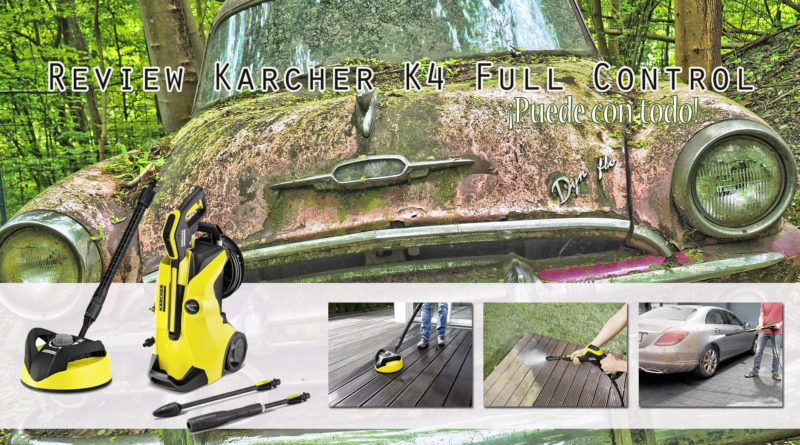 Review Hidrolimpiadora Karcher k4 Full Control