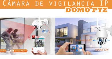 Cámara de vigilancia IP domo PTZ