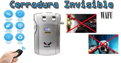 Review Cerradura Invisible WAFU